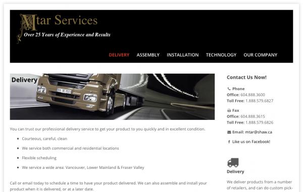 MTAR Website